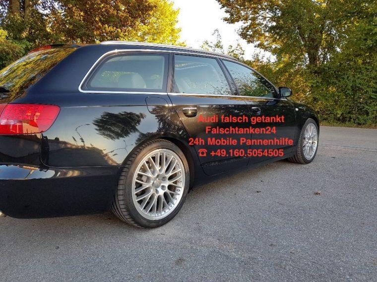 Falschtanker falsch getankt Audi