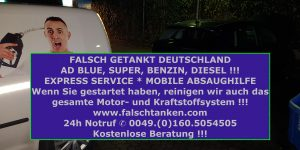 24h Mobiler absaugnotdienst Deutschland +49160-5054505