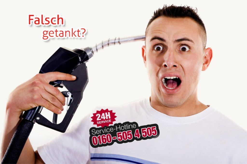 Falsch Getankt Deutschland Logo