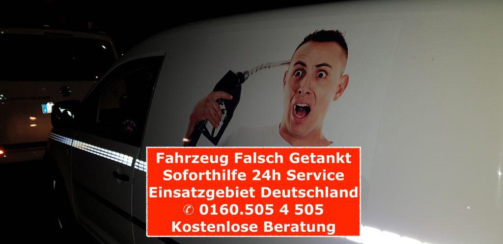 falsch getankt Deutschland