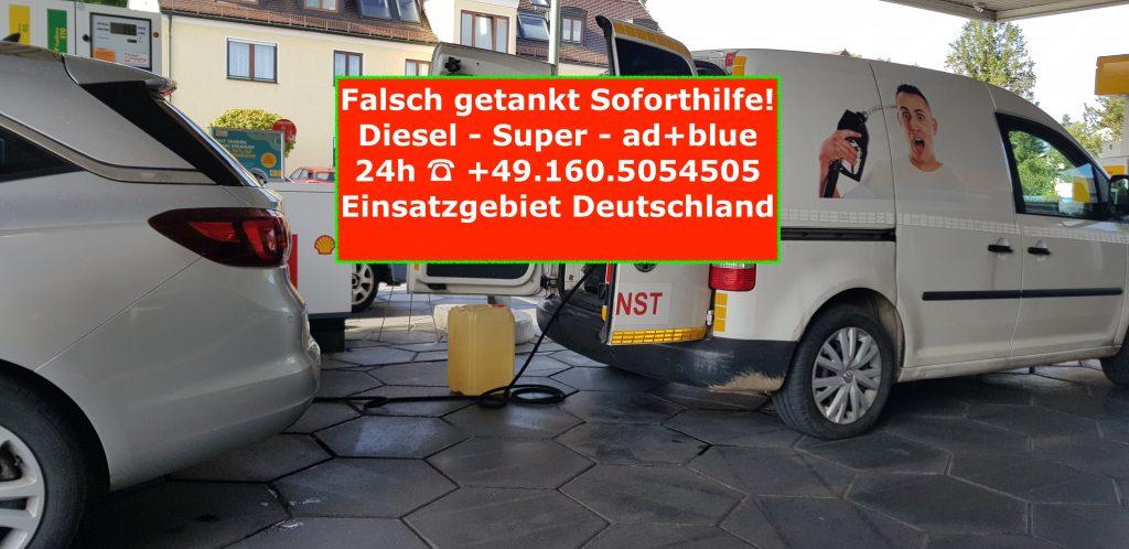 Opel falsch getankt