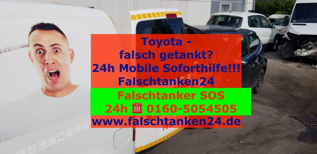toyota-falsch-getankt-falschtanken24-pannenhilfe-deutschland